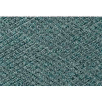 "WaterHog® Classic Diamond Mat 3/8"" Thick 4' x 20' Blue"
