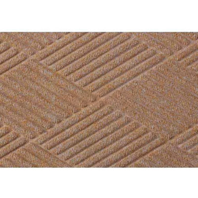 WaterHog™ Fashion Diamond Mat, Med Brown 4' x 8'