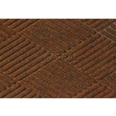 "WaterHog® Diamond Mat Fashion Border 3/8"" Thick 3' x 20' Dark Brown"