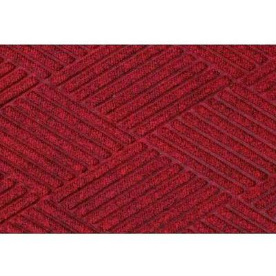 WaterHog™ Fashion Diamond Mat, Red/Black 6' x 6'