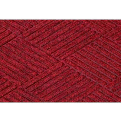 WaterHog™ Fashion Diamond Mat, Red/Black 4' x 16'