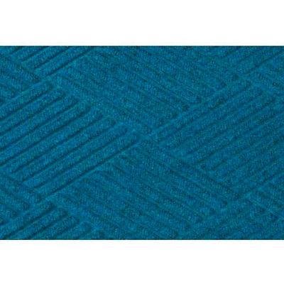 "WaterHog® Diamond Mat Fashion Border 3/8"" Thick 3' x 20' Medium Blue"