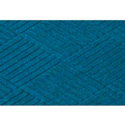 "WaterHog® Diamond Mat Fashion Border 3/8"" Thick 6' x 20' Medium Blue"