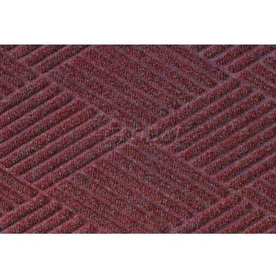 WaterHog™ Fashion Diamond Mat, Bordeaux 4' x 12'