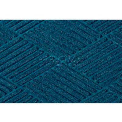 "WaterHog® Diamond Mat Fashion Border 3/8"" Thick 3' x 8' Navy"
