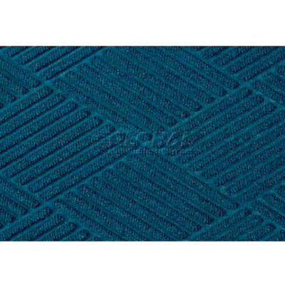 WaterHog™ Fashion Diamond Mat, Navy 4' x 20'