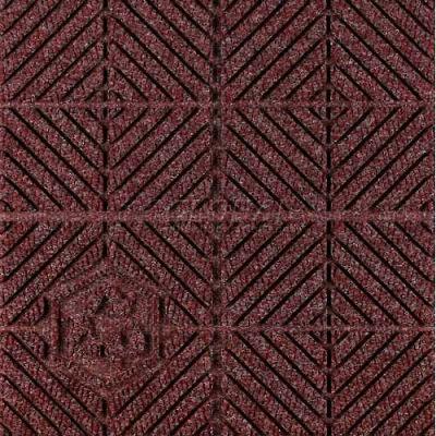 """Waterhog Eco Premier Carpet Tile 22177314000, Diagonal, 18""""L X 18""""W X 1/4""""H, Grey Ash, 12-PK"""