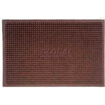 WaterHog™ Fashion Entrance Mat, Dark Brown 4' x 6'