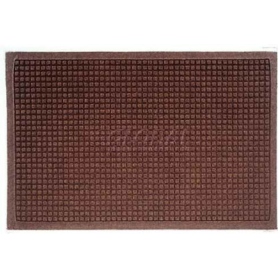 WaterHog™ Fashion Entrance Mat, Dark Brown 4' x 8'