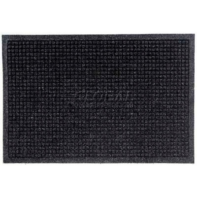 WaterHog™ Fashion Entrance Mat, Charcoal 4' x 10'