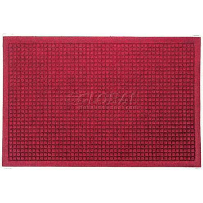 WaterHog™ Fashion Entrance Mat, Red/Black 4' x 10'