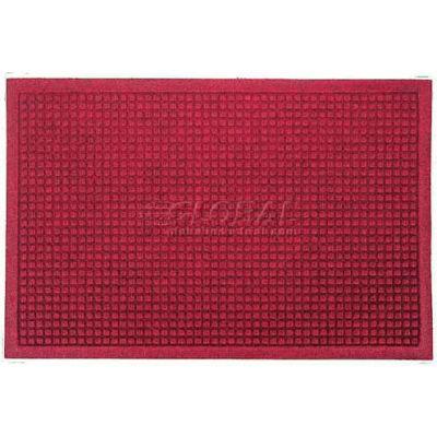 WaterHog™ Fashion Entrance Mat, Red/Black 6' x 12'