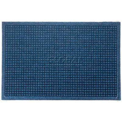 WaterHog™ Fashion Entrance Mat, Med Blue 4' x 12'