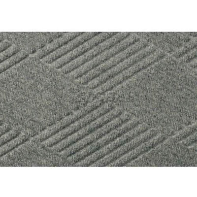 WaterHog™ Fashion Entrance Mat, Med Gray 4' x 6'