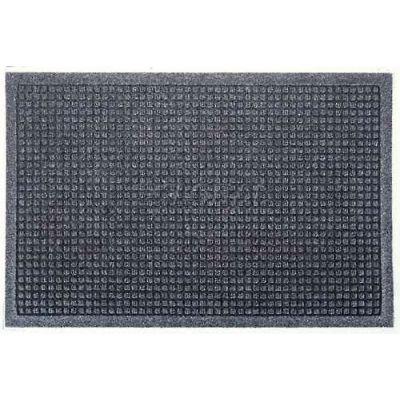 WaterHog™ Fashion Entrance Mat, Bluestone 4' x 6'