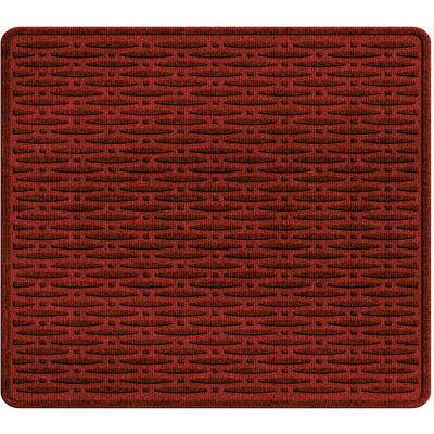 "Waterhog Cargo Mats with Traction Pattern, 31"" x 27"", Red/Black - 3905550003070"