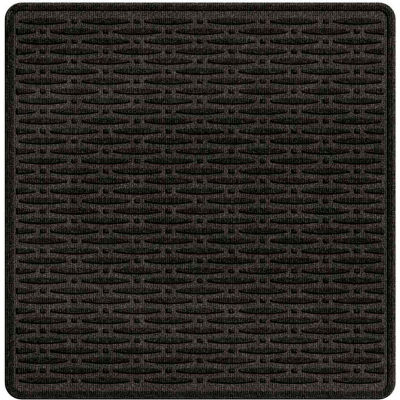 """Waterhog Cargo Mats with Traction Pattern, 36"""" x 35"""", Charcoal - 3906540003070"""