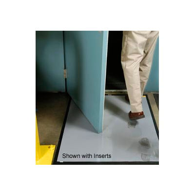 """Clean Stride® Mat Rubber Frame Only 26.5"""" x 32"""" Black"""