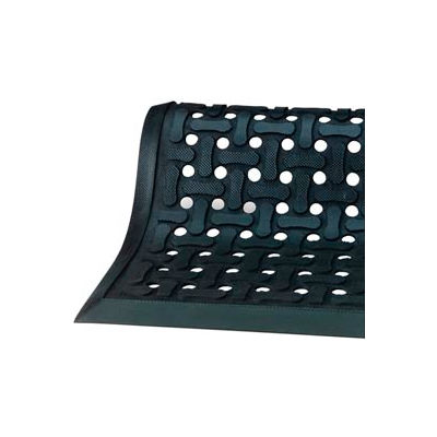 "Comfort Flow™ HD Anti-Fatigue Mat 3/8"" Thick 2' x 3' Black"