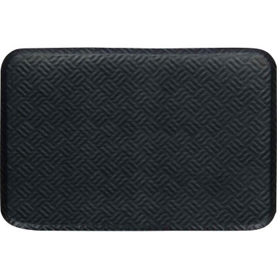 "Hog Heaven Prime Anti Fatigue Mat, 3/4"" Thick, 24""W x 36""L, Black"