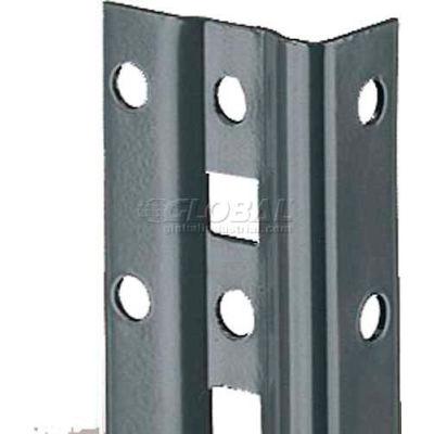 "Tri-Boro Offset Angle Post 1"" x 1-7/8"" x 6'3""H, 1"" O.C., Dark Gray"
