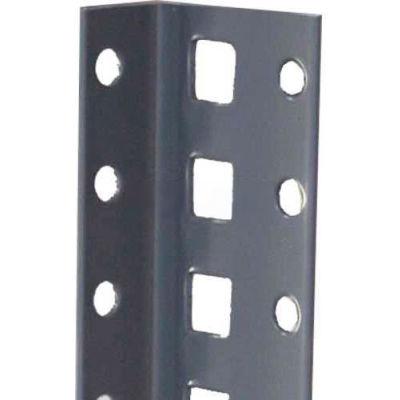 "Tri-Boro Offset Angle Post 1"" x 1-7/8"" x 6'4""H - 1-1/2"" O.C., Dark Gray"