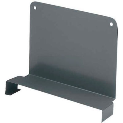 "Tri-Boro Sliding Divider 4""H x 18""D, Dark Gray"