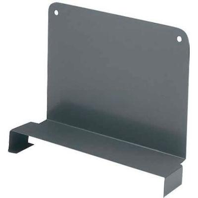 "Tri-Boro Sliding Divider 6""H x 18""D, Dark Gray"