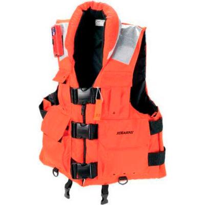 Stearns® SAR Flotation Vest, USCG Type III, Orange, Nylon, 4XL