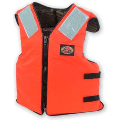 Stearns® Ship Mate™ Life Vest, USCG Type III, Orange, Nylon, Universal