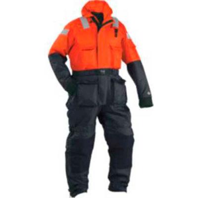 Stearns® Challenger™ Anti-Exposure Work Suit, USCG Type V, Orange/Black, Nylon, 3XL