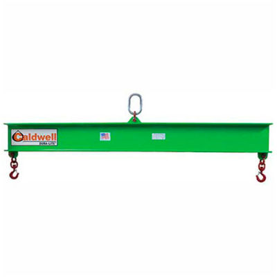 Caldwell 419-2-6, Composite Lifting Beam, 2 Ton Capacity, 6' Hook Spread
