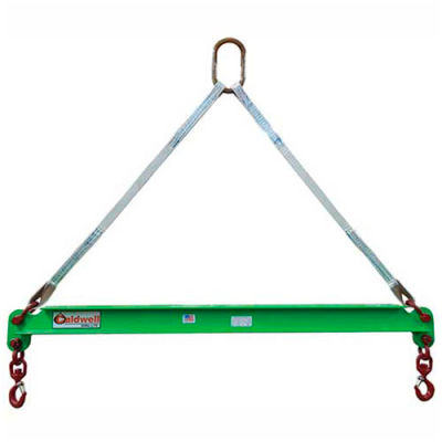 Caldwell 430-1/4-3, Composite Spreader Beam, 1/4 Ton Capacity, 3' Hook Spread