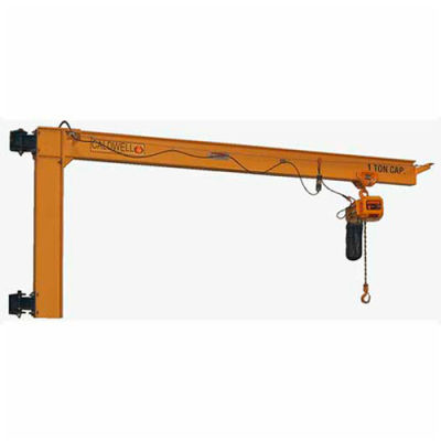 Caldwell E180-1/2-20, Wall Mount Cantilever Jib, 1/2 Ton Capacity, 20' Span