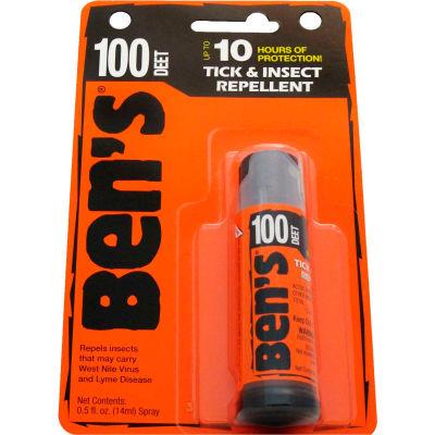 Ben's® 100% DEET Mosquito, Tick and Insect Repellent, 0.5 Oz. Pump Spray