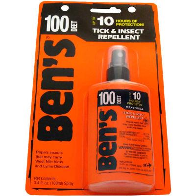 Ben's® 100% DEET Mosquito, Tick and Insect Repellent, 3.4 Oz. Pump Spray