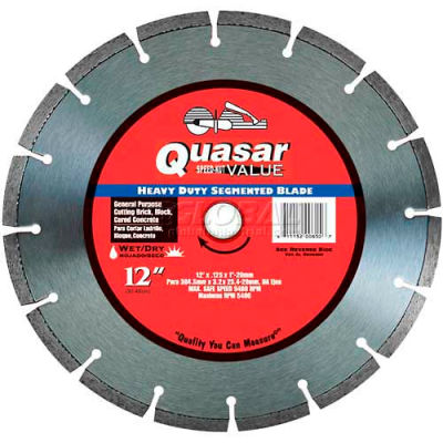 "12"" Quasar Speed-Kut ""Value"" Segmented Diamond Blade"