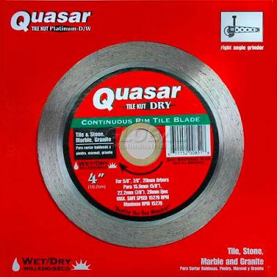 """4"""" Quasar Tile-Kut Dry Continuos Rim Diamond Blade"""