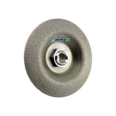 """Edmar 4-1/2"""" Diamond Metal Grinding Wheel 50 Grit"""