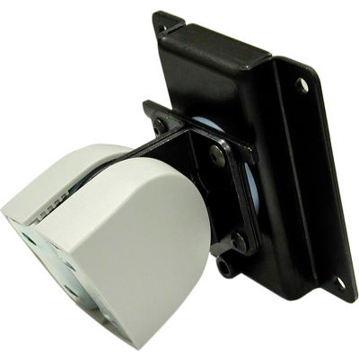 Ergotron® 100 Series Single Pivot Monitor Mount, Black/Gray