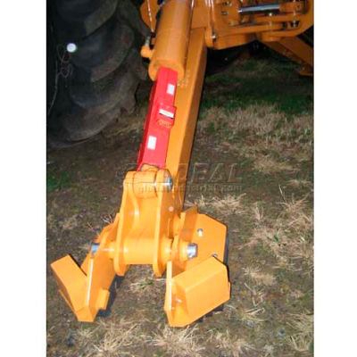 "Equipment Lock Co. Stabilizer Lock Combo, STBL-C 18""L x 7""W x 3""H"