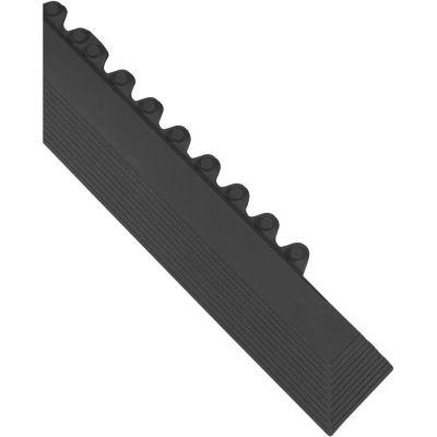 "Wearwell® 24/Seven® GR Male Edge 5/8"" Thick 3.25' Black"