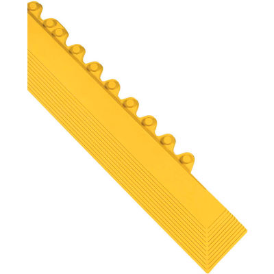 """Wearwell® 24/Seven® GR Anti Fatigue Male Female Edging  5/8"""" Thick 3.25' Yellow"""
