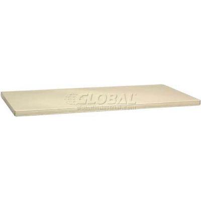 "Tennsco Extra Cabinet Shelf 307-MGY - Shelf For 24"" Deep Jumbo 48"" Cabinet, Medium Grey"