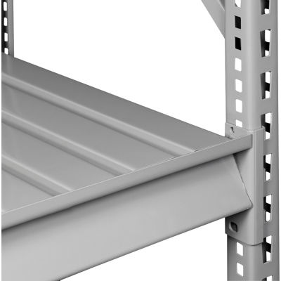 "Tennsco Extra Shelf Level for Bulk Storage Rack - 72""W x 48""D - Steel Deck - Medium Gray"