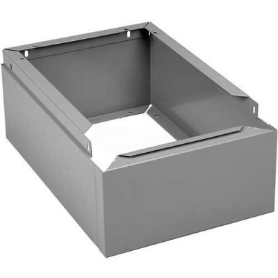 "Tennsco Closed Locker Base CLB-1512-CPY - For 12""W X 15""D Locker No Legs 1 Wide, Champagne Putty"