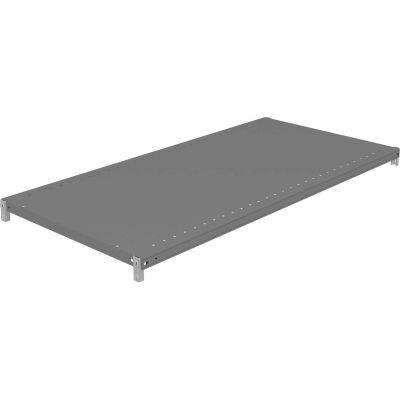 """Tennsco Z-Line Additional Steel Shelf Level with Clips - 48""""W x 24""""D x 1-5/16""""H"""