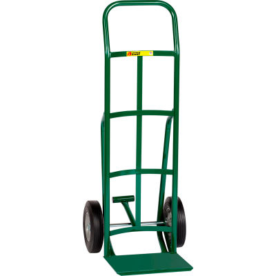 Little Giant® Reinforced Nose Hand Truck TF-200-10 - Rubber with Foot Kick & Continuous Handle