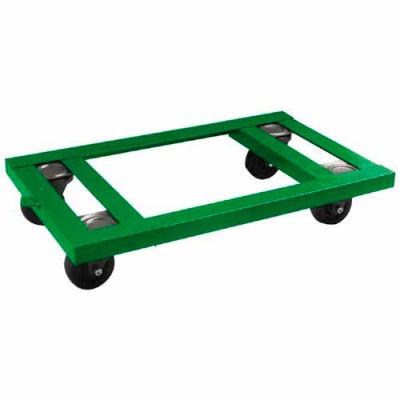 "Fairbanks Angle Iron Dolly AI-2436-4HR - 24"" x 36"" - 4"" Hard Rubber Wheels - 1600 Lb. Capacity"
