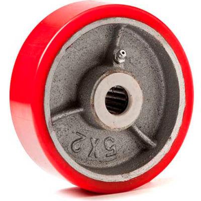 "Fairbanks Polyurethane Mold-on Wheel E-808 SA - 8"" Dia. x 2""W - 1260 Lb. Capacity"